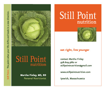 Still Point Nutrition: Name, Branding, Logo, Business Card